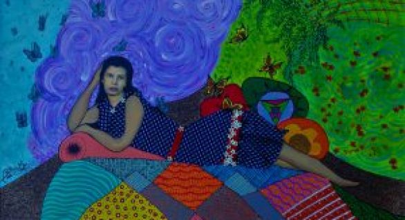 A alagoana BettinaWJ estreia sua primeira exposição individual no Café da Linda