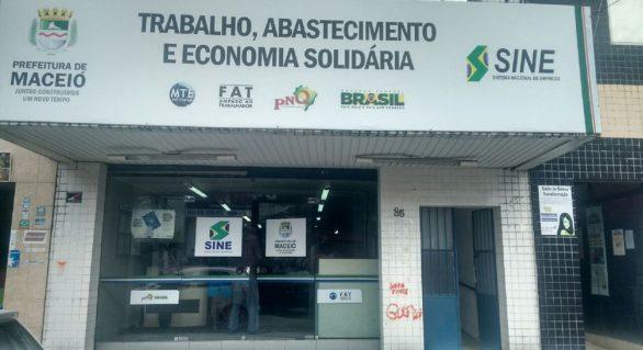 Sine oferta mais de 300 vagas de emprego em Maceió