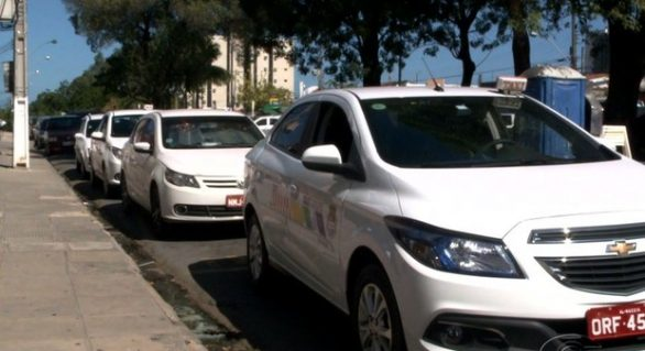Taxistas interditarão ruas do Centro nessa quarta-feira (28)