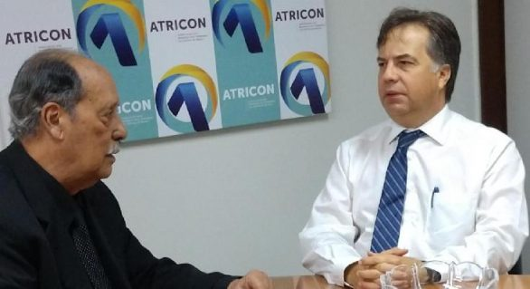 Diretor de Comunicação do TCE/AL se reúne com Presidente da Atricon
