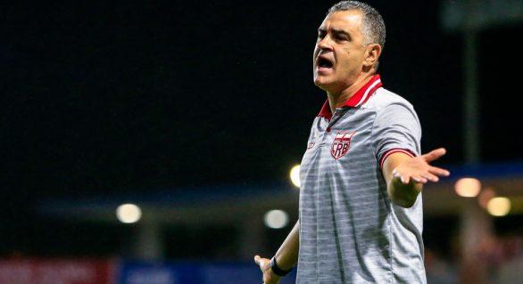 Técnico do CRB comenta derrota do time para o Paraná