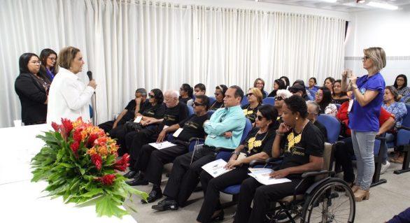 FUNBRASIL realiza seminário sobre pessoas com deficiência visual