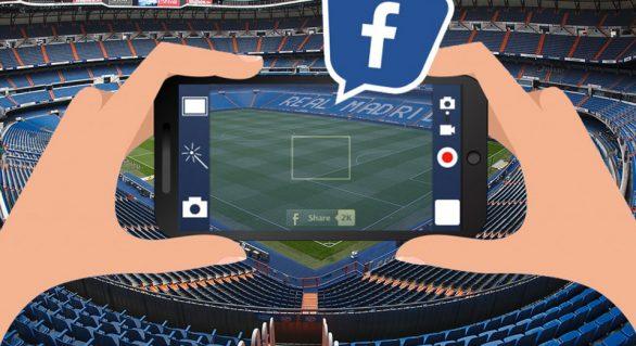 Assista os principais jogos de futebol pelo Facebook