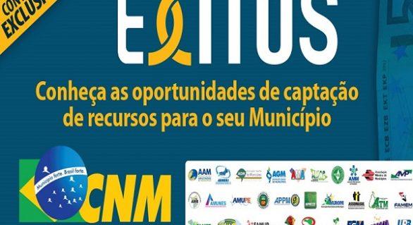 Plataforma Êxitos divulga oportunidades de projetos para municípios