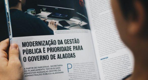 Alagoas é destaque em revista nacional sobre gestão pública