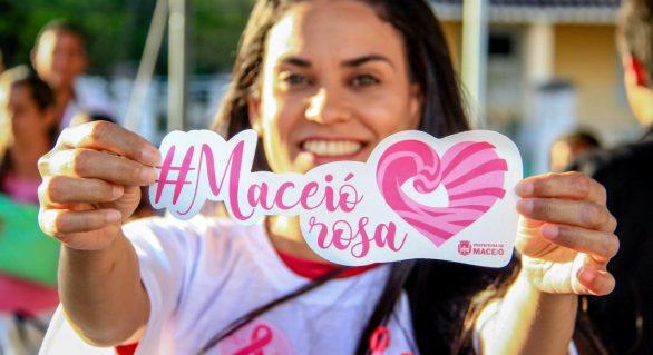 Maceió Rosa contará com atividades durante todo o mês