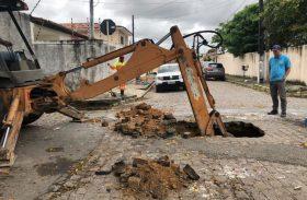 Pinheiro recebe reconstrução de sistema de drenagem