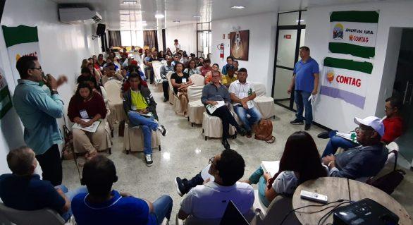 Fetag-AL promove oficina de base em Arapiraca