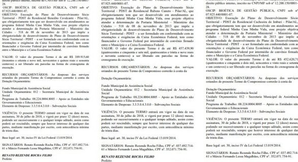 Oscip investigada por PF fez contratos com prefeitura do Pilar