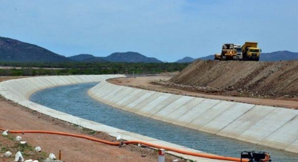 Obras no Canal do Sertão devem ser paralisadas