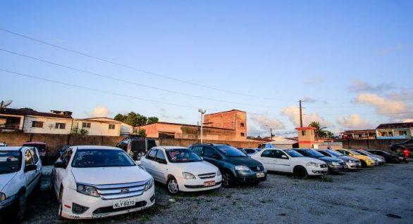 SMTT realizará leilão de automóveis detidos