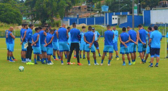 Com retorno de Euller e Warley, CSA se prepara para enfrentar o São Paulo