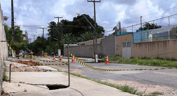 Decreto de Calamidade em bairros com instabilidade de solo é renovado
