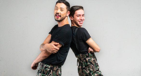 Rico e Davi estreiam show de humor em Maceió
