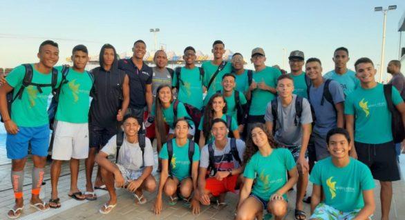 Federação Aquática do Estado de Alagoas participa de Torneio Nordeste de Natação