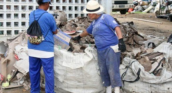 Locais que são grandes geradores de lixo podem ser obrigados a destinar reciclável para associações