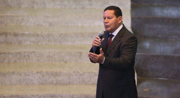 Mourão defende desvinculação de recursos do Orçamento da União