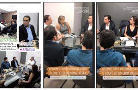 Luciano Barbosa tem reunião com deputados de oposição