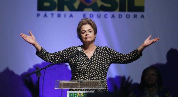 Dilma: Lula é inocente… Nesta democracia, a vítima é a verdade
