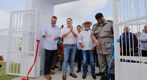 21º Cisp de AL é inaugurado em São Sebastião