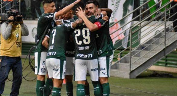 Palmeiras faz o seu melhor primeiro turno