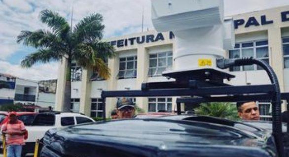 Pilar é a primeira cidade do país a implantar sistema de reconhecimento facial móvel