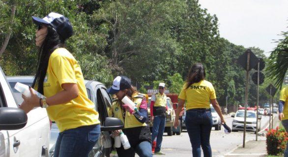 SMTT realiza atividades na Semana Nacional de Trânsito