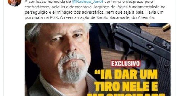 Renan Calheiros: Havia um psicopata na PGR