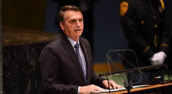 Bolsonaro faz discurso com tom agressivo em Assembleia Geral da ONU