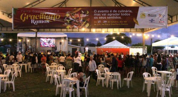 3ª edição da Feira Gastronômica do Graciliano Ramos terá início no próximo dia 18