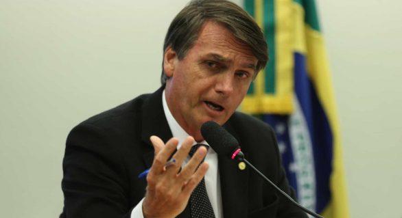 Bolsonaro pede bloqueio de fundo partidário do PSL