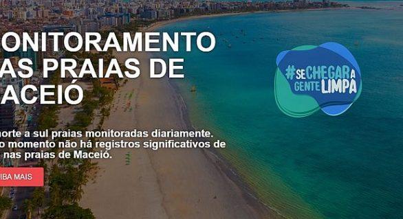 Prefeitura de Maceió lança plataforma de monitoramento de praias