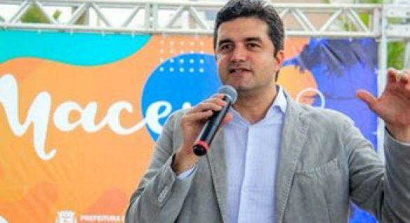 """""""Não há possibilidade de aliança com o JHC. Ele é oposição"""", diz Rui Palmeira"""