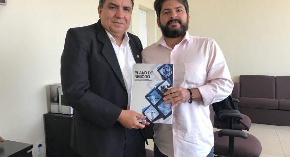 Presidente da CPLA se reúne com deputado Inácio Loiola