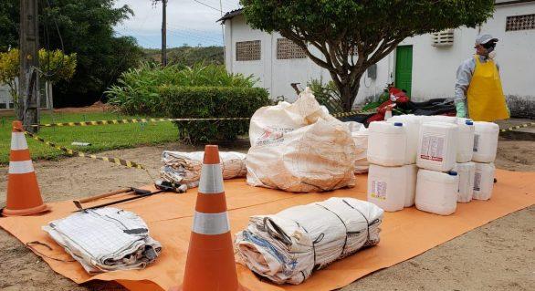 Pindorama recebe ação de recebimento de embalagens vazias de agrotóxicos