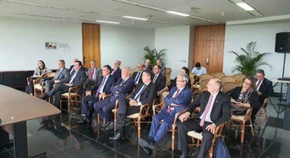 Membros dos TCs se reúnem com Procurador-Geral da República