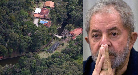 Lula é condenado com aumento de pena no caso do sítio de Atibaia