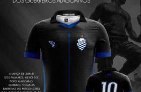 No mês da Consciência Negra, CSA enfrenta o Vasco com camisa em homenagem a Zumbi