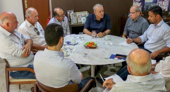 Faeal recebe visita do senador Rodrigo Cunha