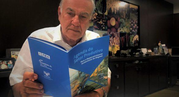 Álvaro Almeida participa de solenidade de lançamento de barragens subterrâneas