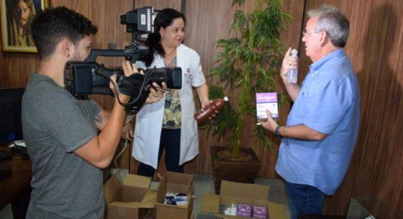 Setor médico do TCE/AL recebe entrega de medicamentos e insumos