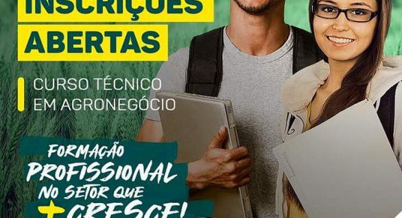 Senar seleciona alunos para curso técnico em Agronegócio