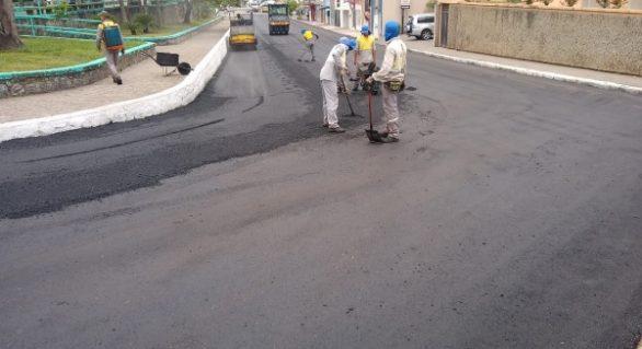 Governo inaugura pavimentação de ruas em São Miguel dos Campos