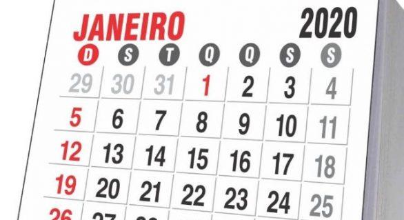 Confira os feriados e pontos facultativos de 2020 em Maceió