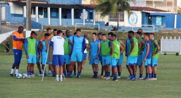 CSA terá jogo-treino nesta quarta-feira (15) contra a Seleção de Joaquim Gomes