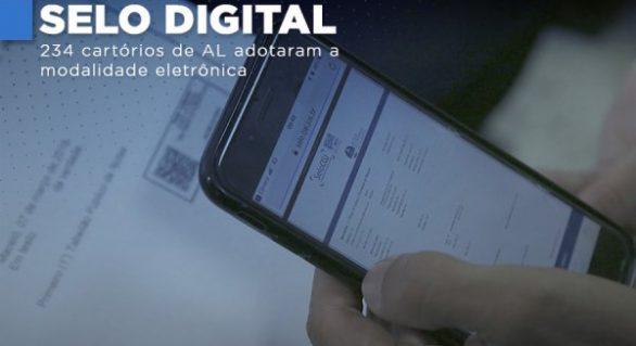Quase 1 milhão de selos digitais são disponibilizados aos cartórios extrajudiciais