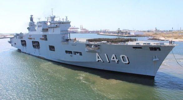 Porta-Helicópteros da Marinha estará aberto para visitação neste fim de semana