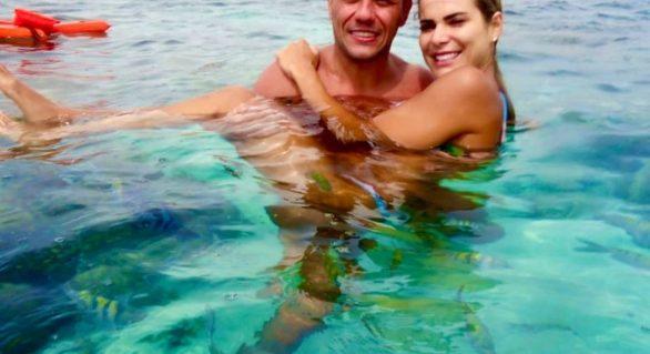 Goleiro Diego Alves, do Flamengo, passa férias e faz elogios a Maragogi
