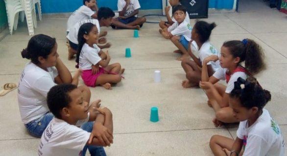 Cras Selma Bandeira realiza colônia de férias no Benedito Bentes