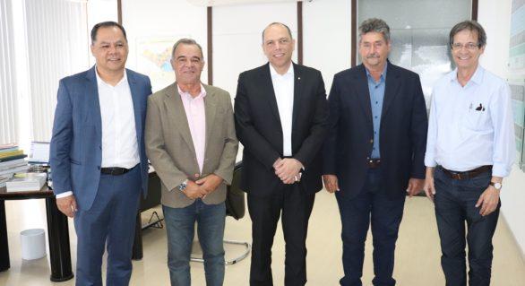 Vice-presidente do BB visita empresários na sede da FIEA
